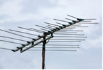 Imagen de la antena de techo