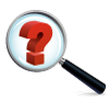 Title Header Icon: Looking glass with question mark inside