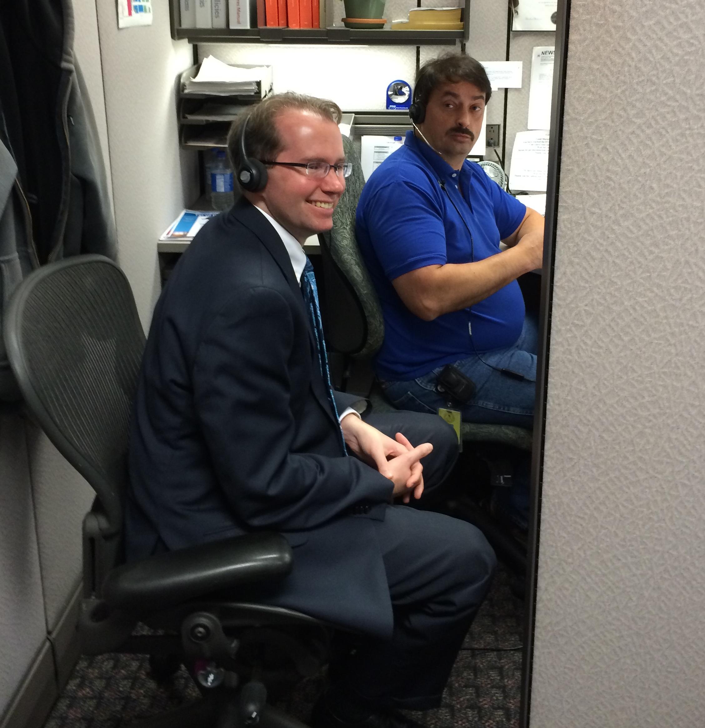 David Bray visit to FCC's Gettysburg Facility