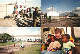 Photos from Khayelitsha, South Africa in 1998