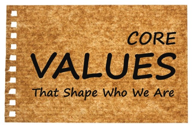 Core values that shape who we are banner