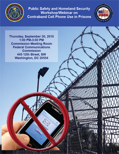 Workshop/Webinar on Contraband Cell Phone Use in Prisons