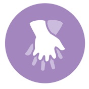 Elderly Hands Icon
